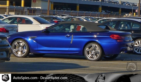 Uncovered 2012 BMW F12 M6 Convertible in New Jersey