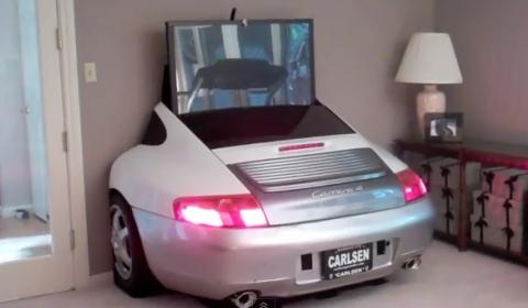 Video 2005 Porsche 996 TV Display Center