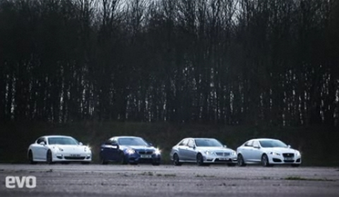 Video 2012 BMW F10M M5 Against Its Rivals