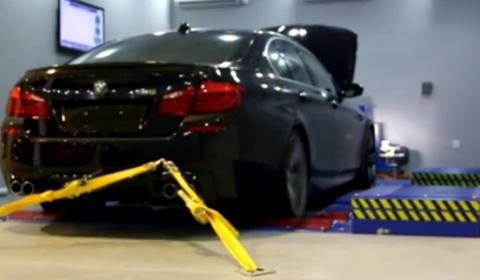 Video 2012 BMW F10M M5 Dyno Run