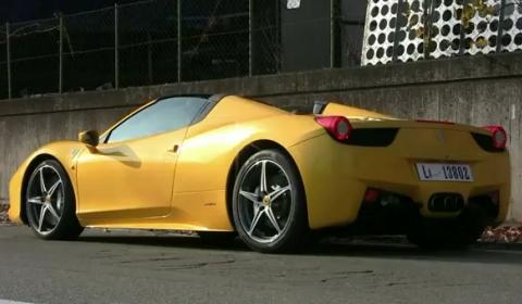 Video 2012 Ferrari 458 Spider in Maranello