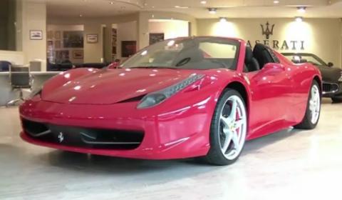 Video 2012 Ferrari 458 Spider Overview by Giovane1991