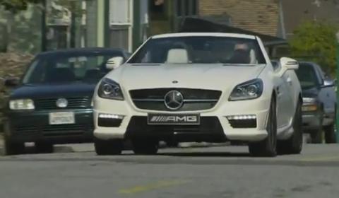 Video 2012 Mercedes-Benz SLK 55 AMG in Action