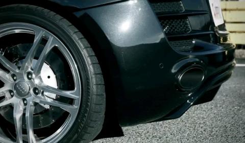 Video Audi R8 V10 with Akrapovic Slip-on Exhaust System