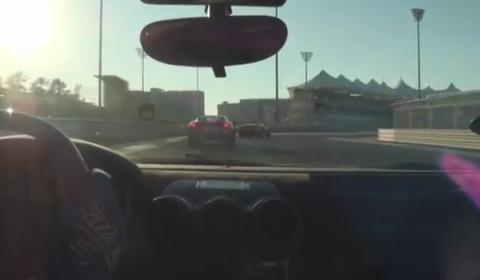 Video Ferrari Scuderia 16M at Yas Marina F1 Circuit