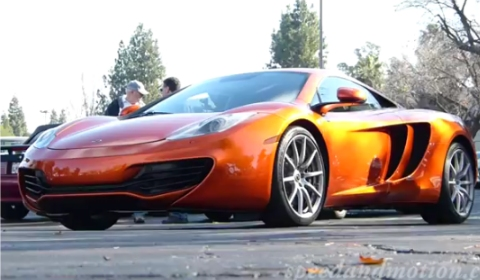 Video Jay Leno's McLaren MP4-12C at Supercar Sunday