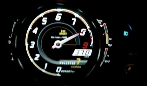 Video Lamborghini Aventador Laps Hockenheim and Hits 370km/h