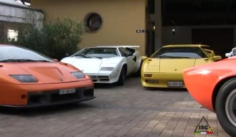 Video Lamborghini Club Italia End Year Meeting 2011