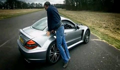 Video Mercedes-Benz SL65 AMG Black Series Top Gear Review