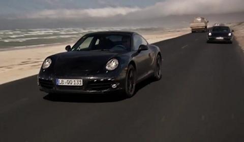 Video Shakedown Testing 2012 Porsche 911 (991)