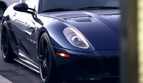 Video SP Engineering Ferrari 599 GTX Sound Track