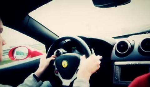 Video Testing the Ferrari California at Factory in Maranello