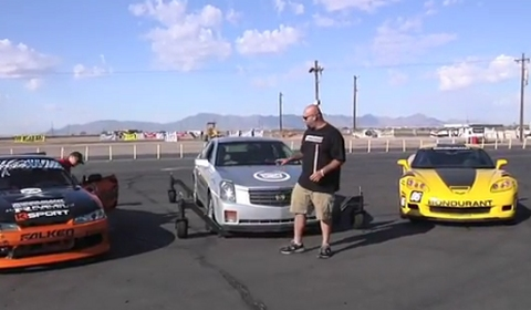 Video The Smoking Tire Presentator Matt Learns to Drift