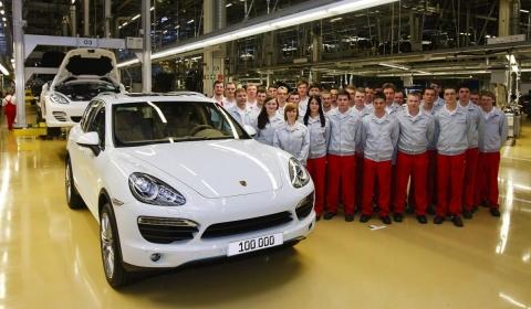 2010 Porsche Cayenne Reaches 100,000 Units