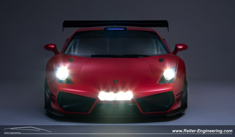 2012 Reiter Engineering Lamborghini Gallardo LP600+ GT3
