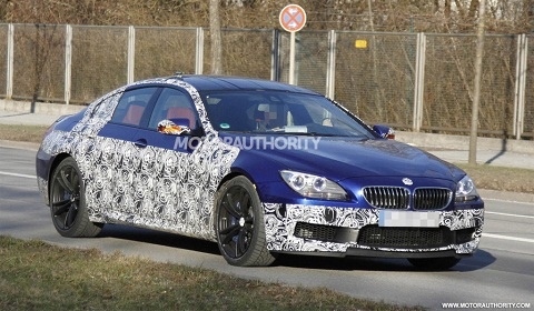 2013 BMW M6 Gran Coupe Spyshots