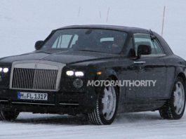 2013 Rolls Royce Phantom Coupe Spy Shots