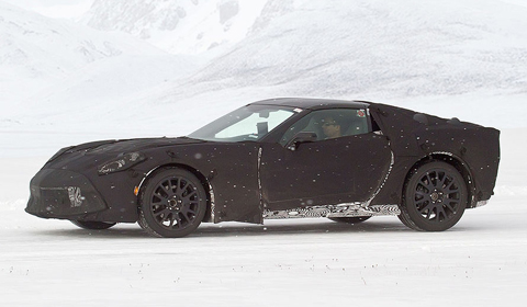 Spyshots: 2014 Corvette C7 Caught in the Snow