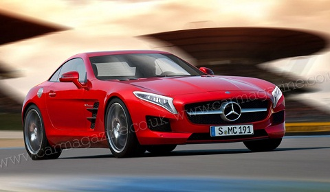 AMG Sports Car to Debut This Year