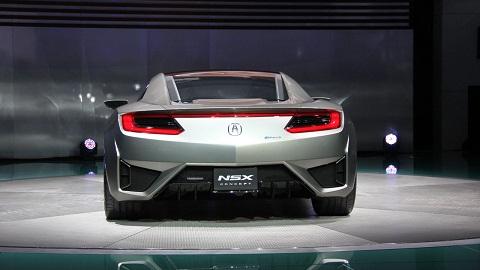 Acura NSX Hybrid Concept Rear