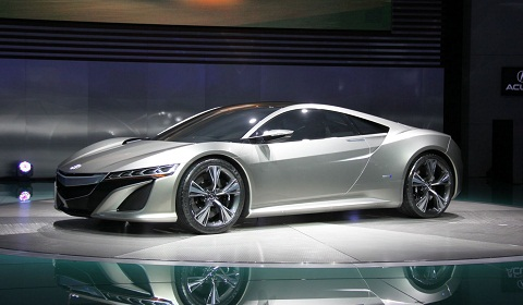Corvette Stingray Hybrid on Acura Nsx Hybrid Concept