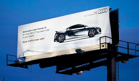 Audi R8 GT Advert Illinois