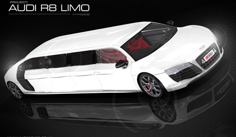 Audi R8 V10 Limousine