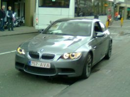 BMW M3 E92 Crash in Netherlands