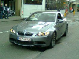 BMW M3 E92 Crash in Netherlands