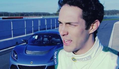 Bruno Senna Drives Lotus Exige S