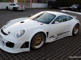 Chop Top GT2 Porsche 996 by Albert Motorsport