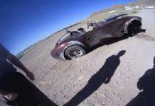 Cobra Replica Crash at Willow Springs