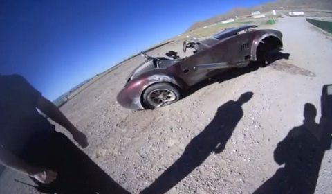 Cobra Replica Crash at Willow Springs