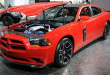 Dodge Charger Redline at Detroit