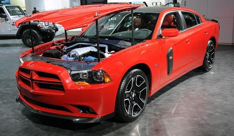 Dodge Charger Redline at Detroit