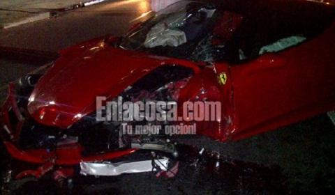 Ferrari 458 Italia Wrecked in Dominican Republic