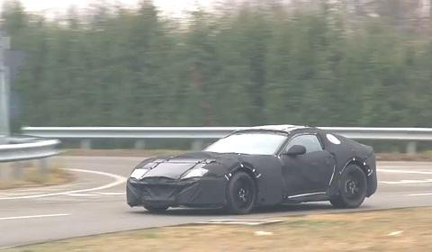 Ferrari 599 Successor Video