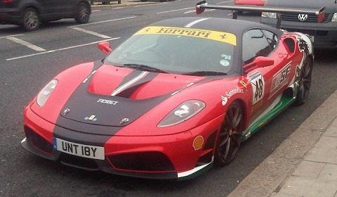 Ferrari F430 in Southend