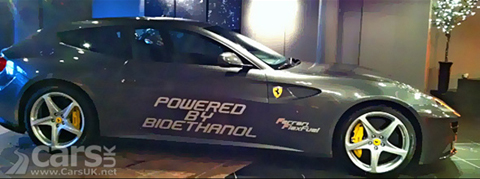Ferrari FF Packs 875bhp on Bio-Ethanol