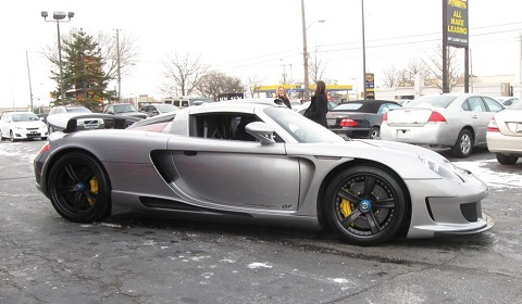 Gemballa Mirage GT Black Edition For Sale