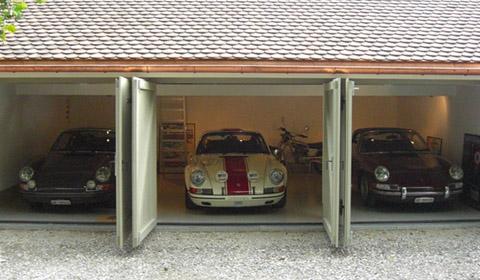 How to Build Your Own Porsche Garage