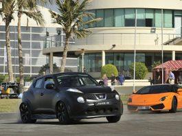 Juke-R v LP560-4 v 458 v SLS AMG in Dubai