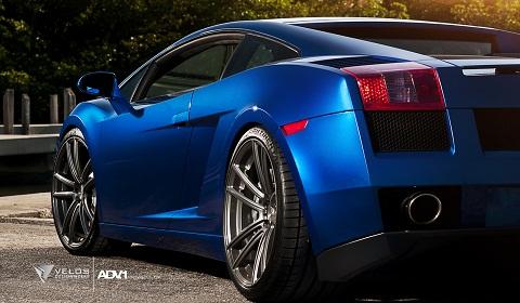 Lamborghini Gallardo on ADV.1 Wheels