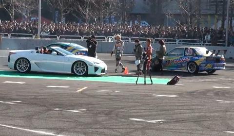 Lexus LFA Roadster Makes Surprise Appearance in Tokyo