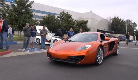 McLaren MP4-12C Deliveries Start in US