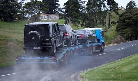 Megaupload Founder Kim Schmitz Car's Being Seized