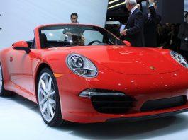 Porsche 911 (991) Carrera S Convertible at Detroit