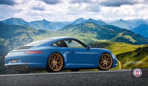 Porsche 991 Carrera on HRE P40SE