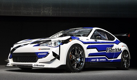 Scion FR-S Drift Car at Detroit