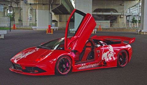 Drag Racing Lamborghini Murcielago Tuning